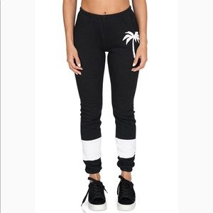 Wildfox Royal Palm Knox Sweatpants NWT Size Small